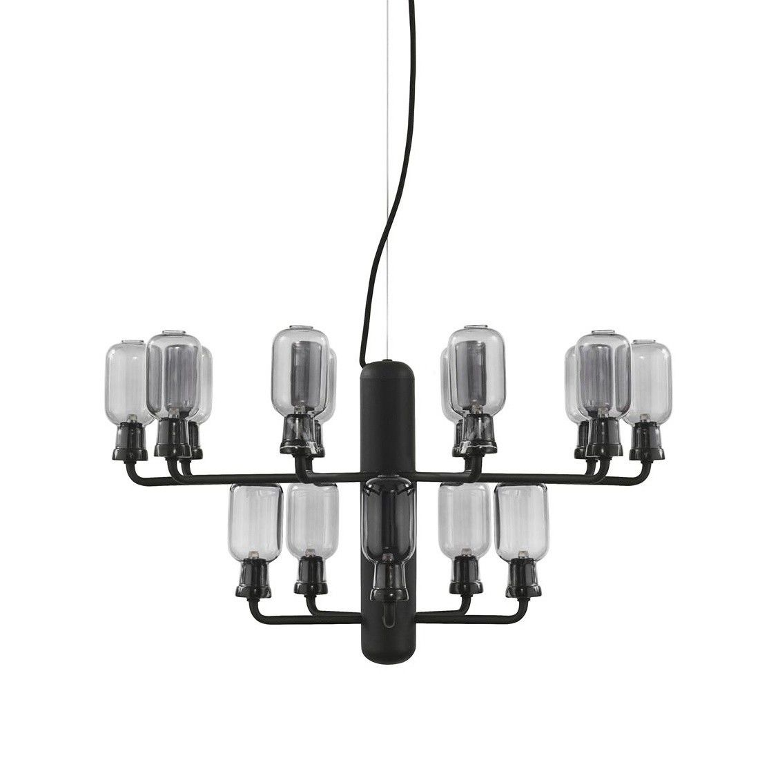 Amp chandelier small normann copenhagen ambientedirect amp chandelier small smoke arubaitofo Images