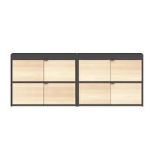 HAY - New Order Sideboard mit Türen 200x79.5cm