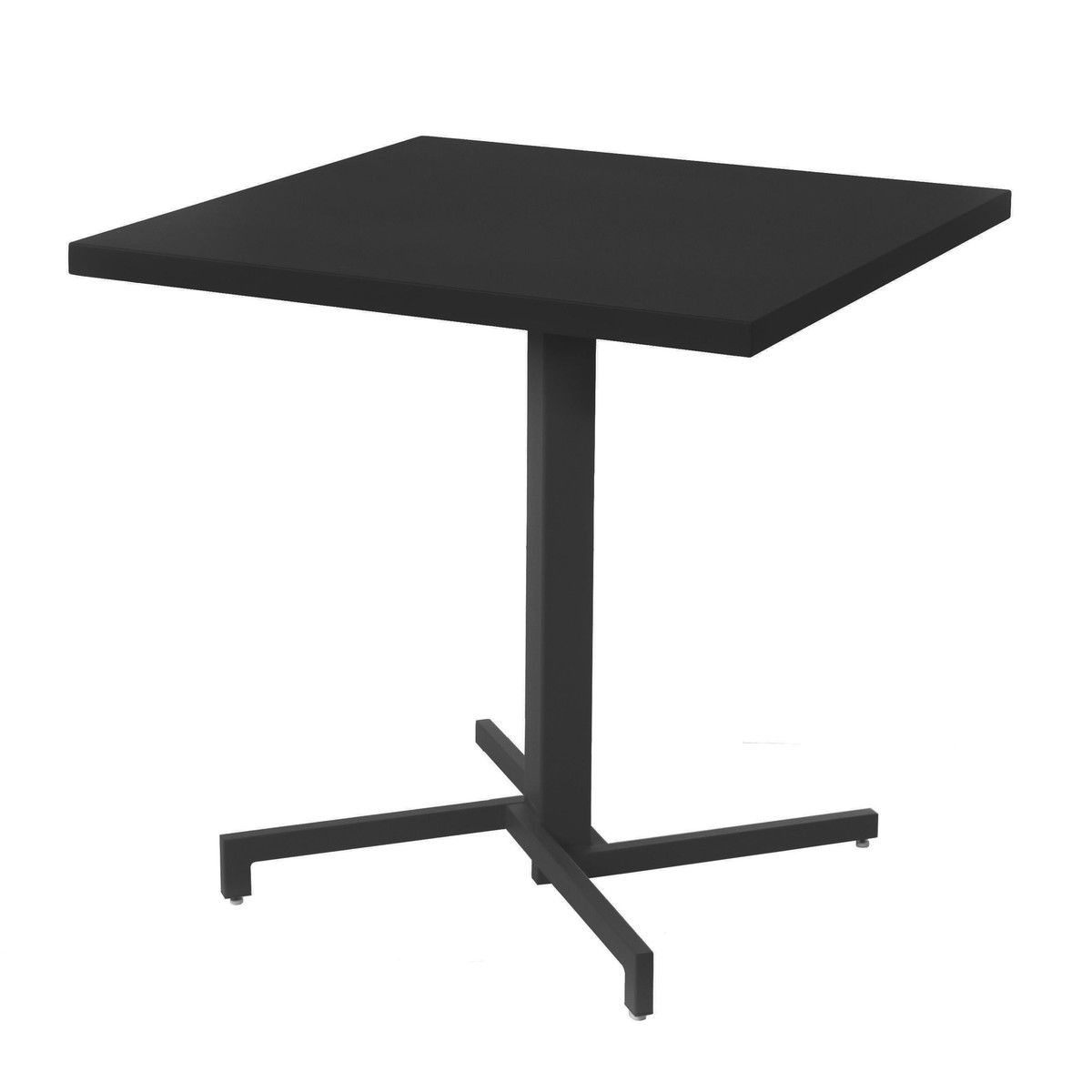 Emu   Mia Bistro Table Square   Black/matt/foldable