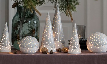 Presenter Weihnachtsbeleuchtung