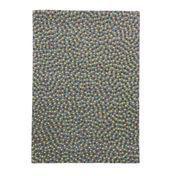 Nanimarquina - Topissimo Multi Teppich - blau/Neuseeland-Wolle/200x300cm