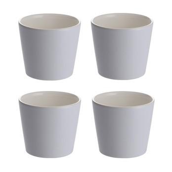 Alessi - Tonale Kaffeebecher 4tlg. - hellblau/Ø 8cm, 20cl