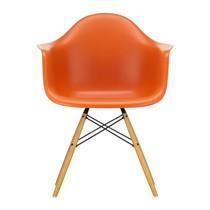 Vitra - Eames Plastic Armchair DAW Ahorn gelblich