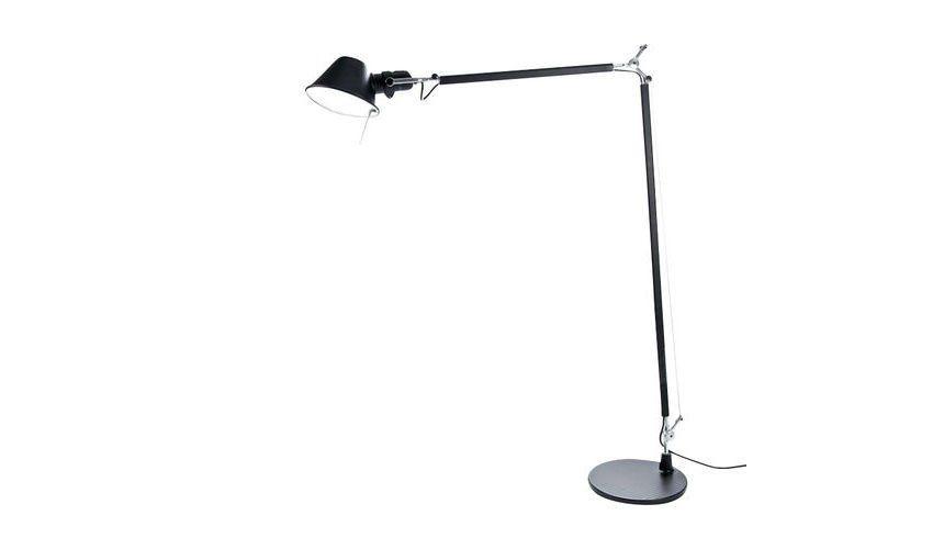 Artemide   Tolomeo Lettura Reading Lamp   Black/aluminium/with Base/LxWxH  100x15x167cm ...