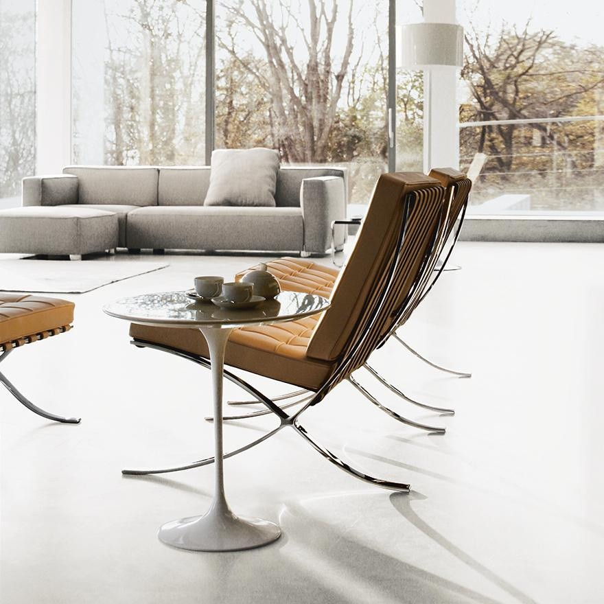 Knoll International Saarinen Side Table O 51cm Ambientedirect