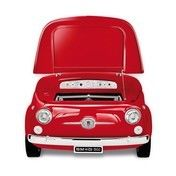 Smeg - SMEG Fiat 500 Minibar/ Kühltruhe - rot/125x80x83cm/Fiat500 Retro-Design/Energieeffizienzklasse A+