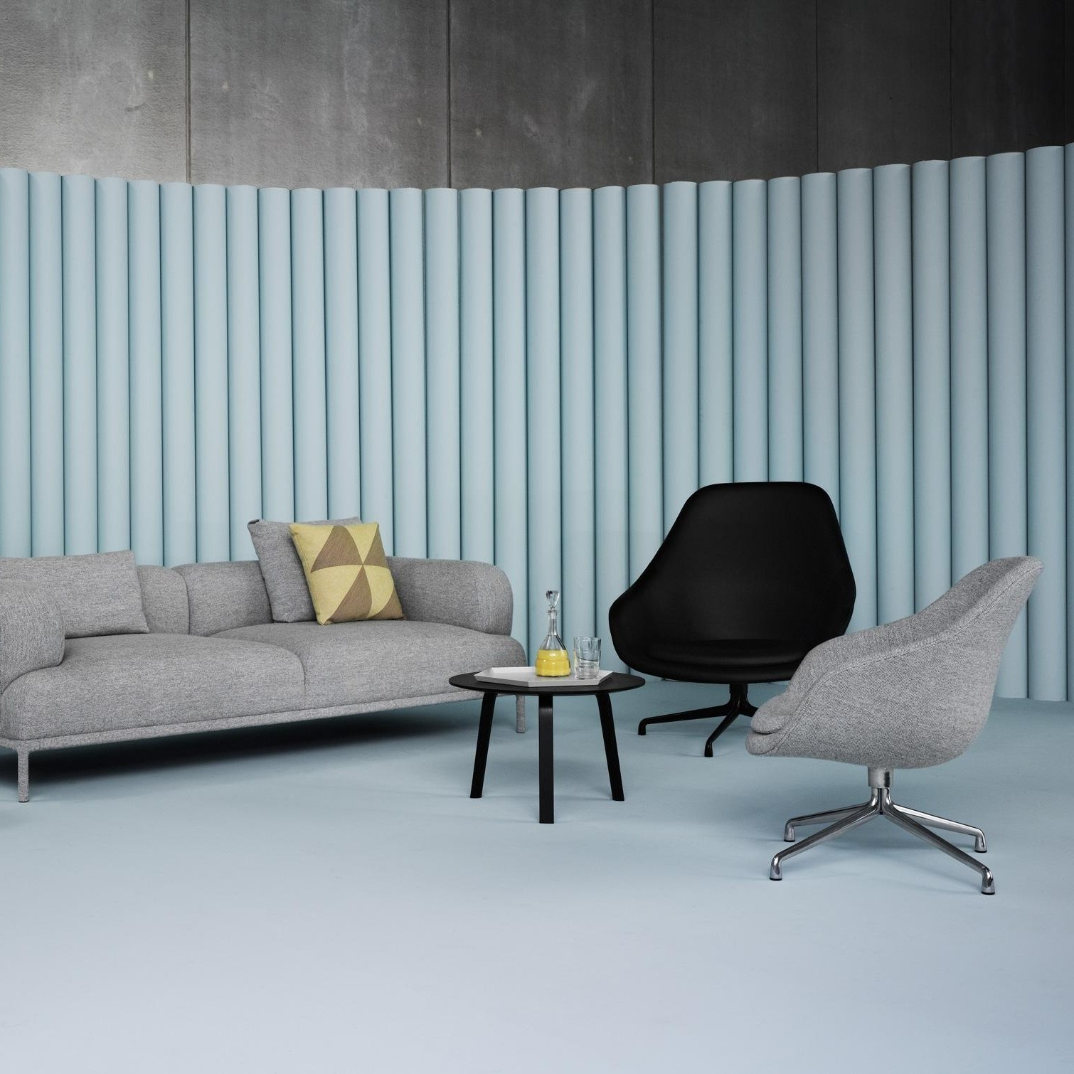 Hay About A Lounge Chair Aal91 Fauteuil Pivotant