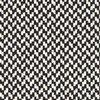 Softline - Sleep Day Bed / Sofa Bed - black & white/cord edge black/fabric Cento 470/frame black