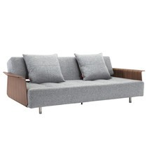 Innovation - Long Horn Excess Schlafsofa mit Armlehnen