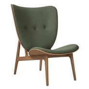 NORR 11 - Elephant Lounge Chair Smoked Oak Base