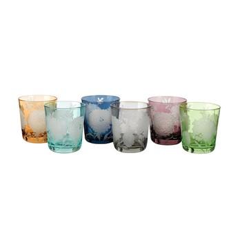 pols potten - Peony Glas 6er Set