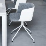 la palma: Brands - la palma - Cut  Swivel Chair Upholstered With Star-Base
