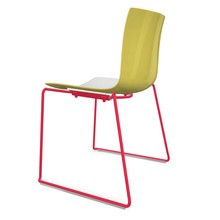 Arper - Catifa 46 0278 Chair Bicolour Skids Coloured