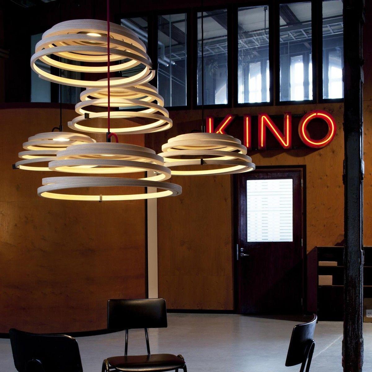 Aspiro 8000 led suspension lamp secto design for Suspension led design