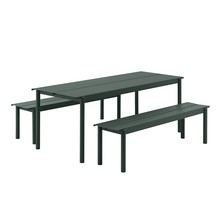 Muuto - Linear Steel Gartenset L 200cm