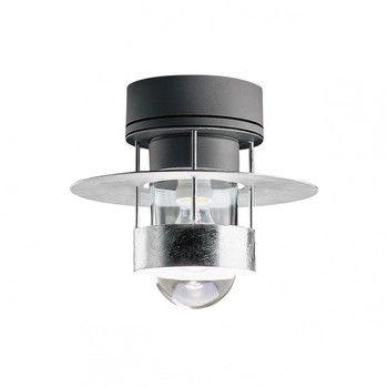 Louis Poulsen - Albertslund Deckenleuchte - grau/Aluminium/Diffusor transparent