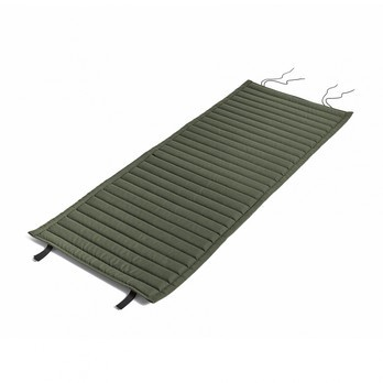 HAY - Palissade Steppkissen 139x49.5cm - olivgrün/wasserabweisend/für Palissade Lounge Stuhl high