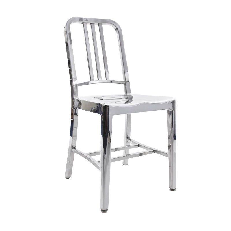 EMECO   Navy Chair   Aluminium/polished/H X W X D: 86