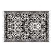 Moooi - Carpet Nr. 06 - Alfombra - negro/blanco/300x200cm