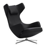 Vitra - Grand Repos loungestoel premium leer F