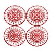 Driade - Italic Lace Round Coaster - 4 Dessous de plat