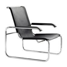 Thonet - S 35 L fauteuil leer