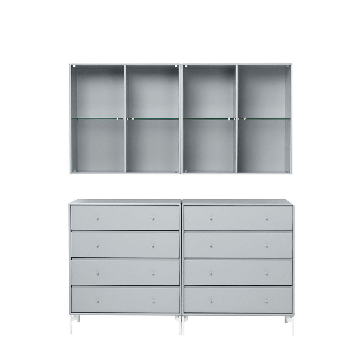Portray Dresser and wall cabinet | Montana | AmbienteDirect.com