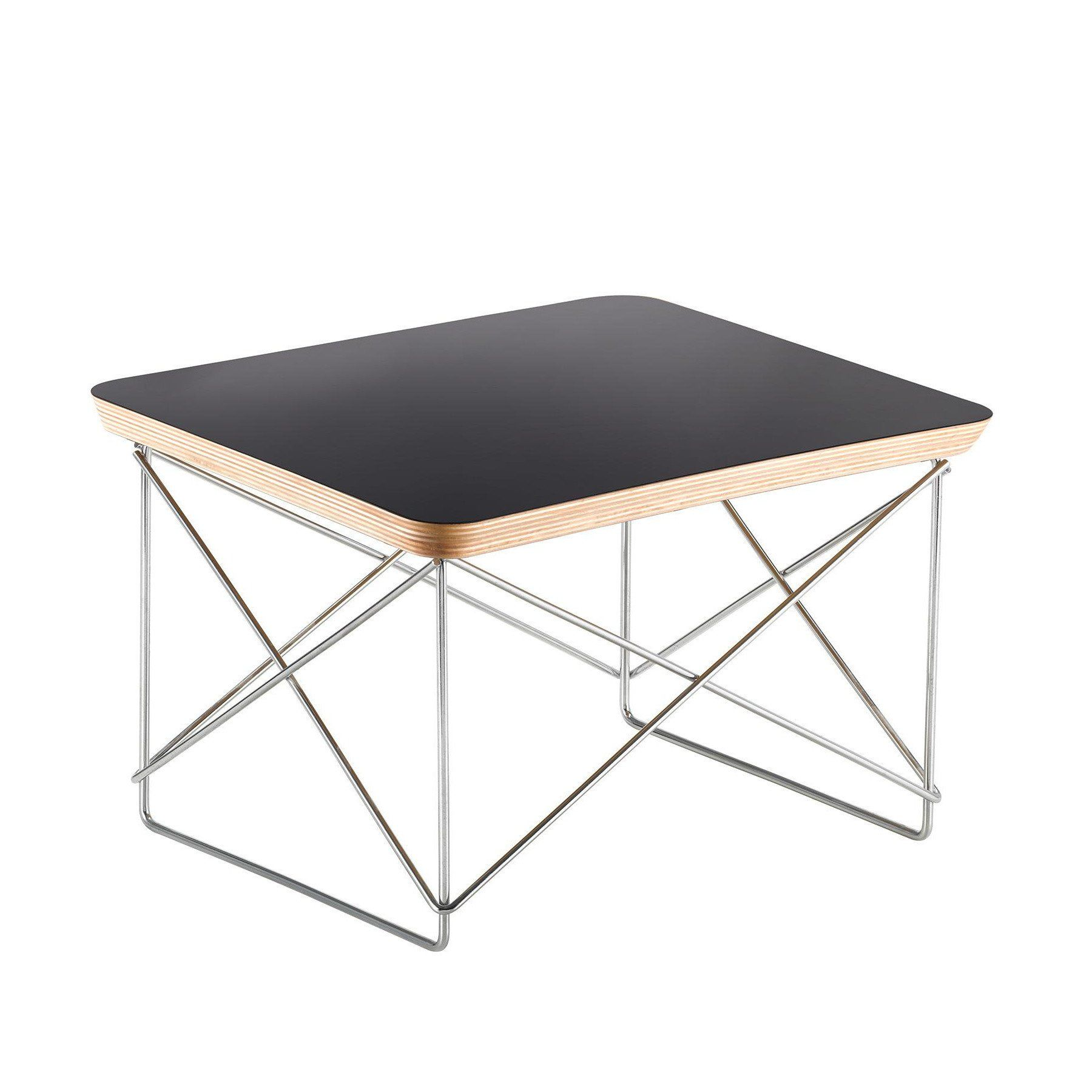 Vitra   Occasional Table LTR Side Table   Black/oak ...
