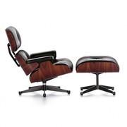 Vitra - Fauteuil & voetenbank Eames Lounge Chair