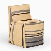 Weishäupl - Chill Stuhl - beige gestreift