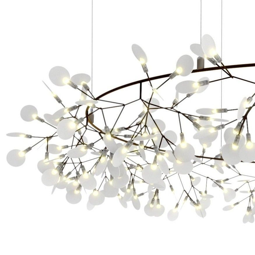Heracleum the big o lustre suspension lamp moooi for Lustre suspension triple