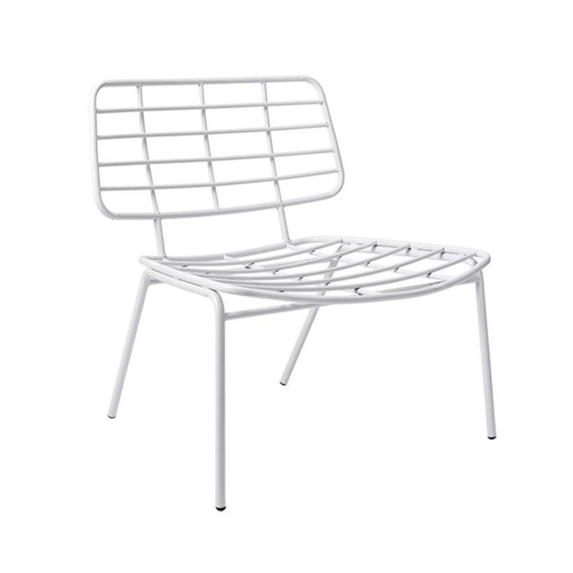 Mesh Lounge Chair Bloomingville