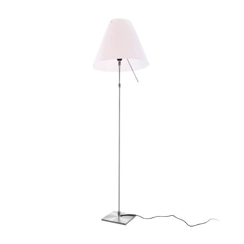 Costanza Brass Floor Lamp Luceplan Ambientedirect