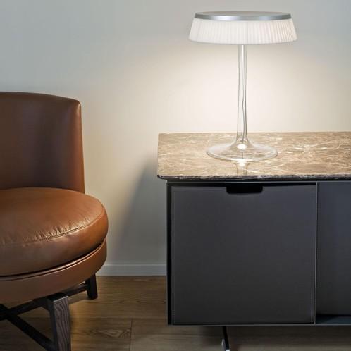 Flos - Bon Jour LED Tischleuchte chrom matt