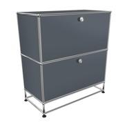 USM  Möbelbausysteme  - USM Sideboard mit 2 Klapptüren H 84cm
