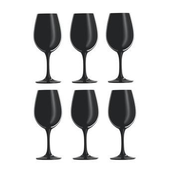 Schott Zwiesel - Sensus Weinprobierglas 6er Set - schwarz/299ml/H: 18.2cm