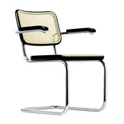 Thonet - Fauteuil cantilever S 64 V avec clayonnage