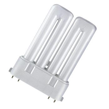 QualityLight - FLUO 2G10 Kompakt 24W 2700Kelvin - opal/Kunststoff/Energieeffizienzklasse a/Gewichteter Energieverbrauch 24 kW/1000 h