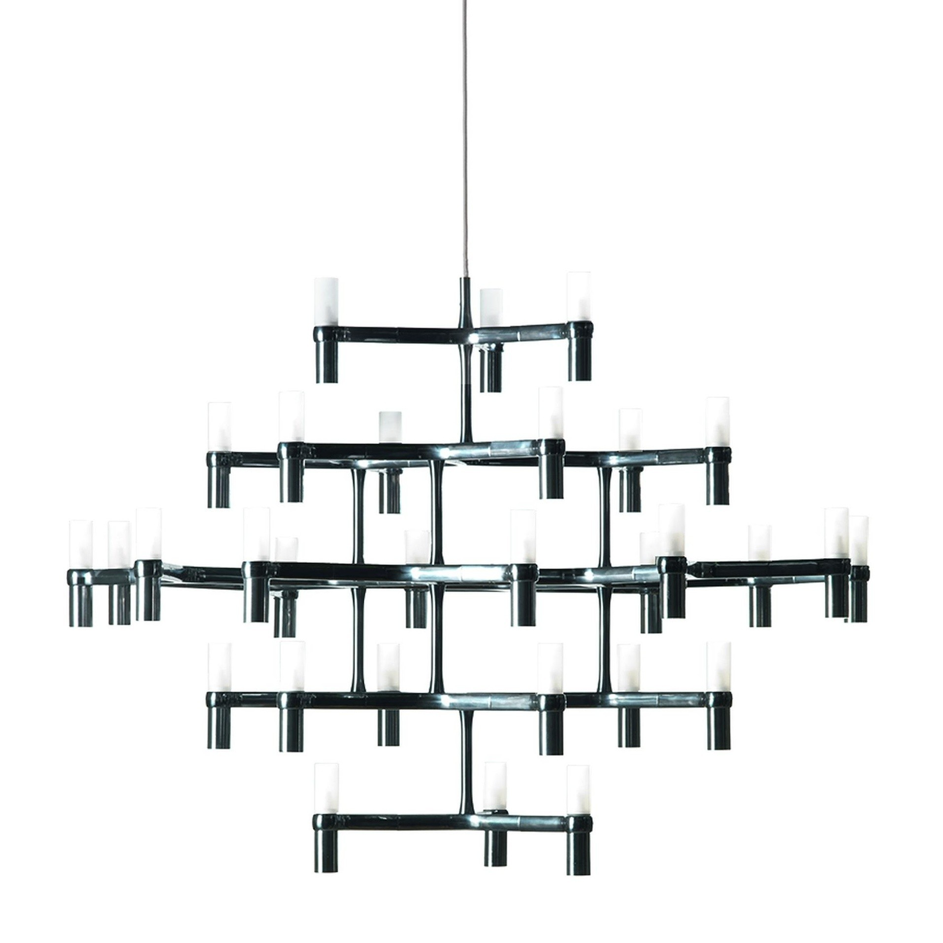 Nemo   Crown Major Chandelier   Black/lacquered/WxHxD ...