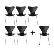 Fritz Hansen - Aktionsset 5+1 Serie 7™ Stuhl
