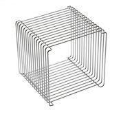 Montana - Panton Wire Shelf modul - chrome/incl. clips