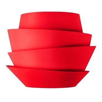 Foscarini - Le Soleil Wandleuchte - rot/LxBxH 36x14x29cm