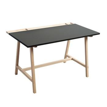 Andersen Furniture - Andersen Furniture D1 Schreibtisch - anthrazit/eiche/125x70x74cm