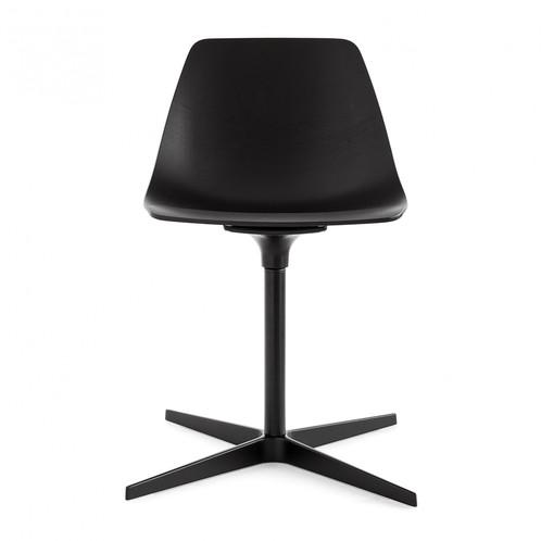 la palma - Miunn Stuhl mit Sternfuß schwarz