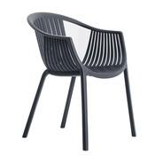 Pedrali - Chaise de jardin avec accoudoirs Tatami 306