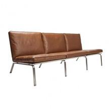 NORR 11 - Man Lounge 3-Sitzer Ledersofa