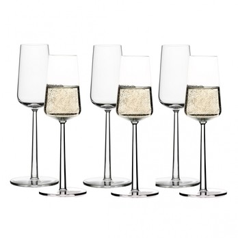 iittala - Essence Champagner Gläser Set 6tlg. - transparent / 21cl