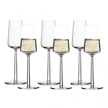 iittala - Essence Champagner Gläser Set 6tlg. - transparent / 21cl