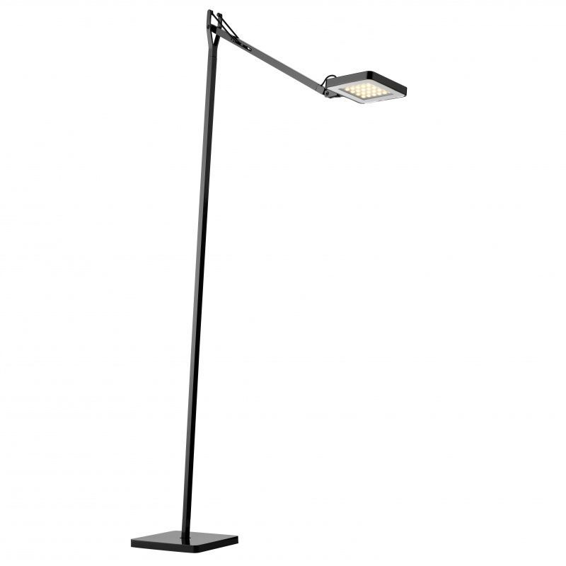 Flos Kelvin Led Floor Lamp: Flos - Kelvin LED F Stehleuchte - schwarz/H: 110cm,Lighting