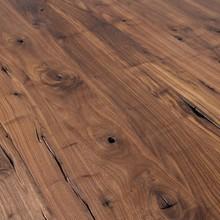 ADWOOD - Ozelot Massivholz Esstisch mit Mittelfuß